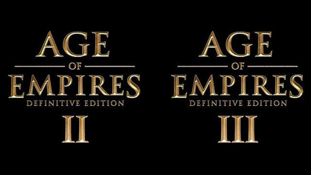 Age of Empires 2 ve 3'ün Yeni Versiyonları Gelecek