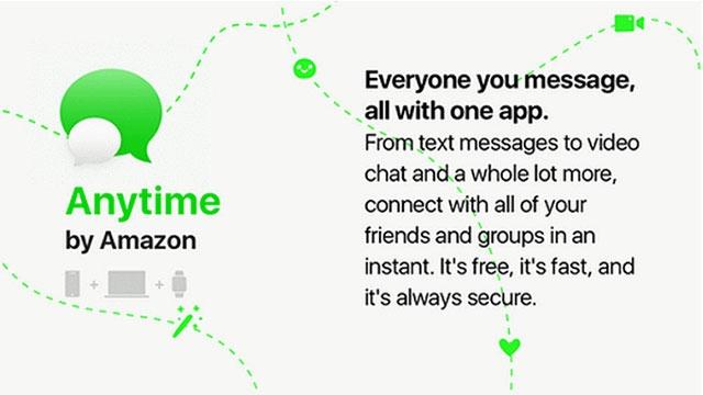 Amazon Kendi Mesajlaşma Uygulamasını Tanıtabilir