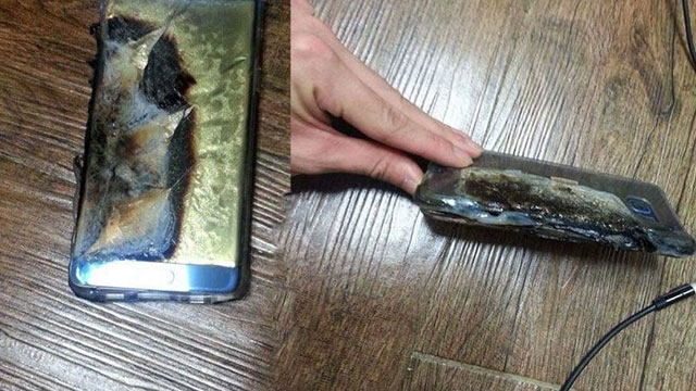 Samsung  Galaxy Note 7'ye Havada Karada Yasak Geliyor!