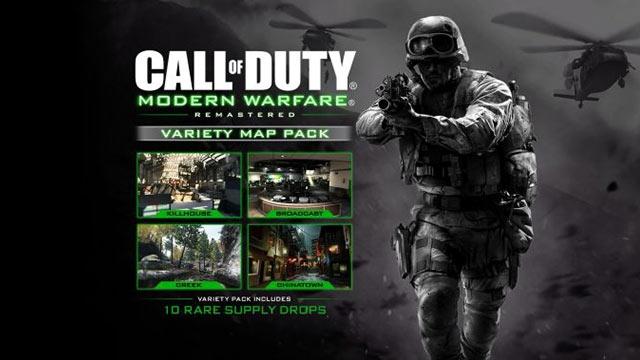 Call of Duty: Modern Warfare Remastered Harita Paketi Duyuruldu