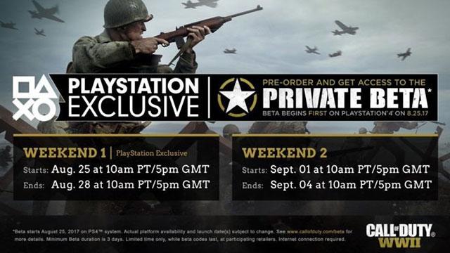 Call of Duty: WW2'nin Multiplayer Videosu Yayınlandı