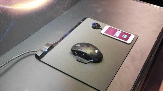 Corsair, Mouse Pad Üzerinde Şarj Olan Mouse'unu Tanıttı