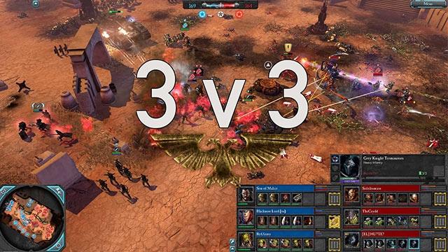 Dawn of War III'ün 3 vs 3 Oynanış Videosu Yayınlandı