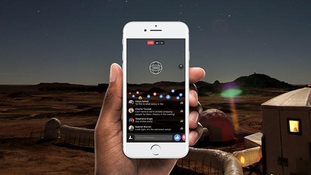 Facebook 360 Derece Canlı Videoları Artık 4K!