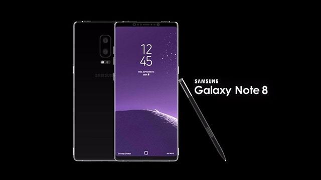 Samsung Galaxy Note 8 İçin Yeni Tarih
