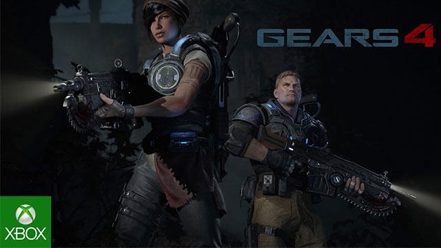 Gears of War 4'ün Yeni Bir Kısa Videosu Yayınlandı