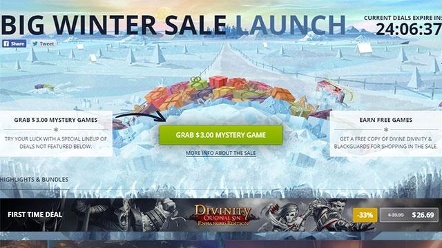 GOG'da 500'den Fazla Oyunda Kış İndirimi Başladı!