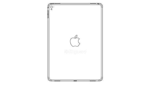 iPad Air 3'ün Taslak Çizim Görseli Sızdırıldı
