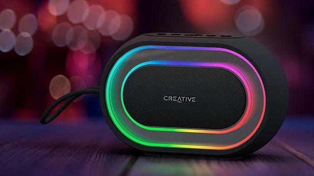 Işık Şovu Yapan Kablosuz Hoparlör: Creative Halo