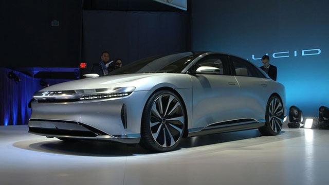 Lucid Motors, Tesla'ya Rakip Olabilecek Bir Elektrikli Otomobil Geliştirdi