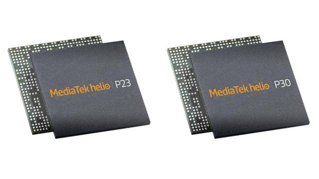 MediaTek Helio P23 ve Helio P30 Yonga Setlerini Tanıttı