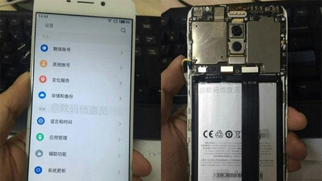 Meizu M6 Note'un Yeni Görüntüleri Sızdırıldı