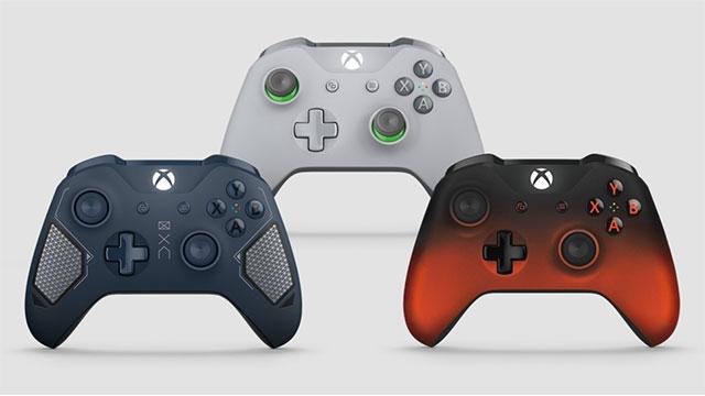 Microsoft, Xbox One için 3 Yeni Oyun Kolu Tanıttı