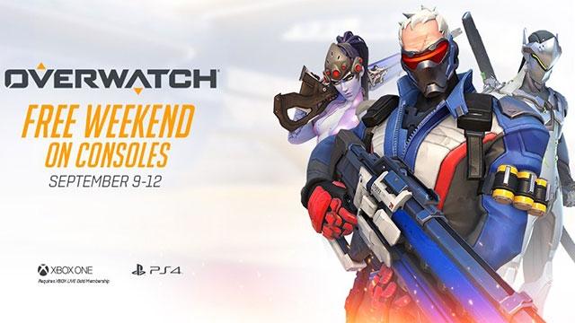 Overwatch, Önümüzdeki Hafta Sonu İçin Ücretsiz Oluyor