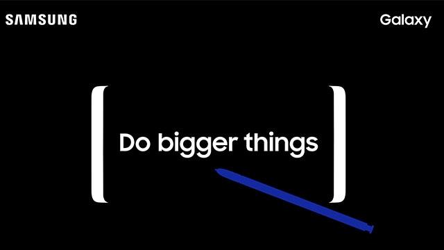 Samsung Galaxy Note 8 İçin Kısa Bir Video Yayınlandı