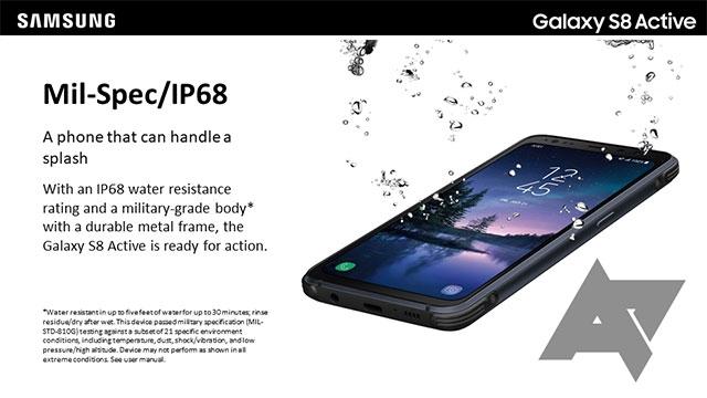 Samsung Galaxy S8 Active'in Gerçek Görüntüleri Sızdırıldı