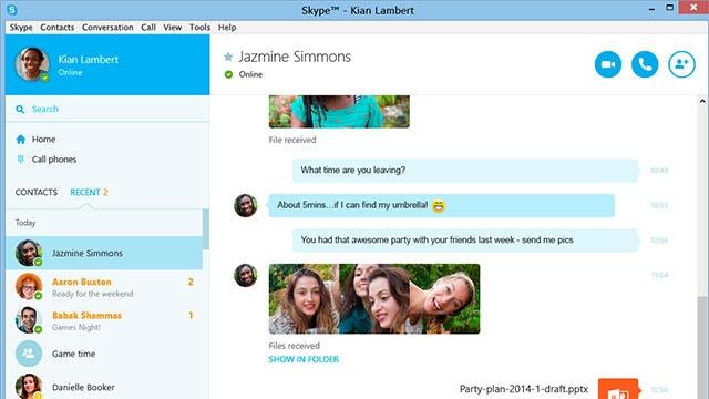 Skype'ın Windows İçin 7.16 Sürümü Yayınlandı