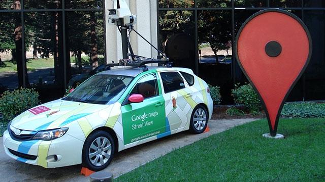 Takip Edildiğini Sanarak Google'ın Harita Otomobillerinden Birini Yaktı (Düzeltme)