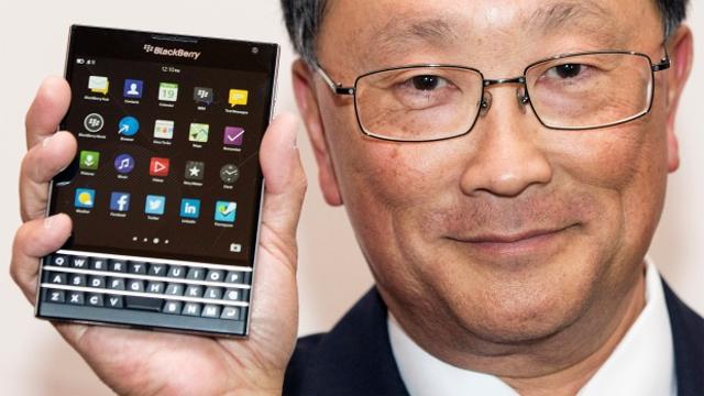 BlackBerry'nin Yeni Telefonu Neden Kare?