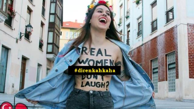 Twitter'a Gülen Fotoğraf Yağdıran Türk Kadınları Dünya Basınında