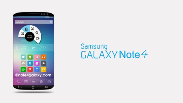 Galaxy Note 4'ün Beklenen Özellikleri, Çıkış Tarihi ve Fiyat Tahmini