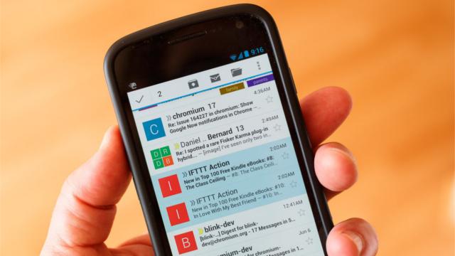 Gmail Android Cihazlarda Dosyaları Google Drive'a Aktarıyor