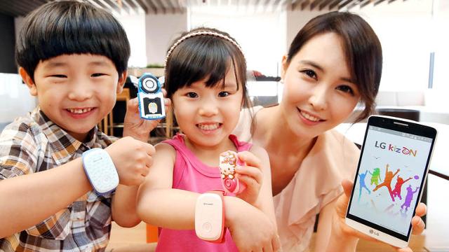 LG KizON Bilek Bantları İle Çocuklar Kontrol Altında