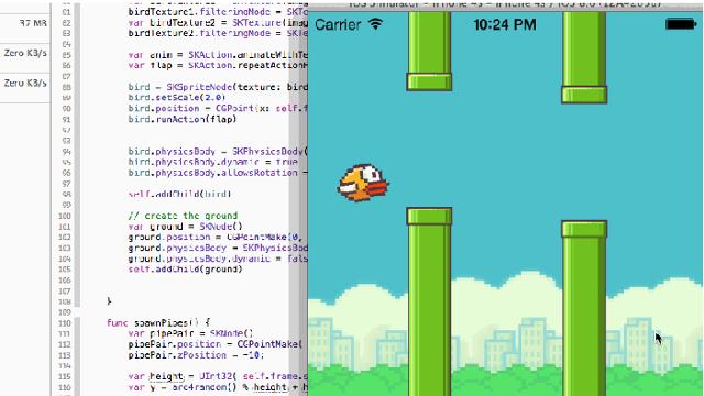 Swift ile 4 Saatte Flappy Bird Hazır!