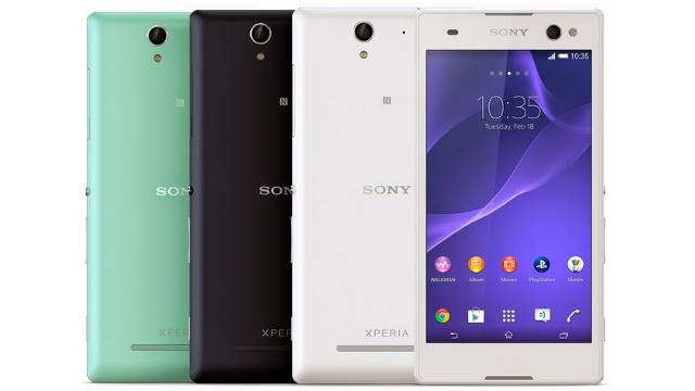 Sony'nin Selfie Telefonu Xperia C3 Bugün Çıkıyor