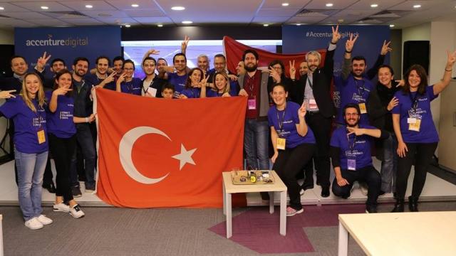 8 Ülkenin Katıldığı Bir Hackathonda Türk Takımı Birinci Oldu