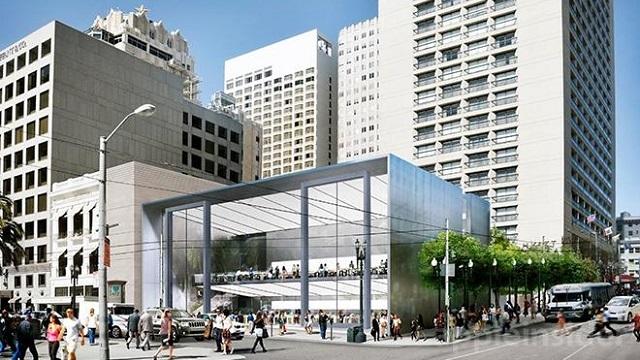 Apple Satış Mağazasının Merdivenleri 1 Milyon Dolar'a Yenilendi