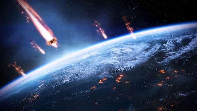 Devasa Gök Taşı Atmosfere Girerek Hiroşima Etkisi Yarattı