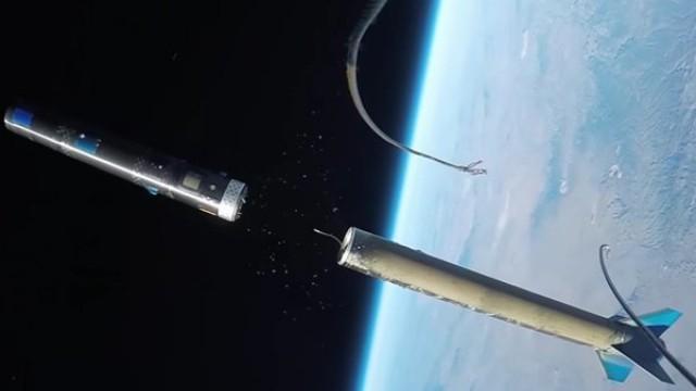 Bir Rokete Bağlanan GoPro Kameralar Eşsiz Görüntüler Kayıt Etti