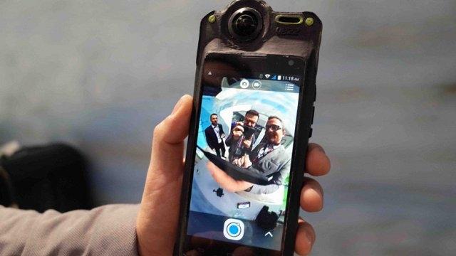 Dünyanın İlk 360 Derece Kayıt Yapabilen Telefonu Yezz Sfera Görücüye Çıktı