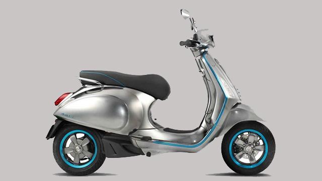Vespa'nın İlk Elektrikli Scooter'ı Vespa Piaggio Elettrica Görücüye Çıktı