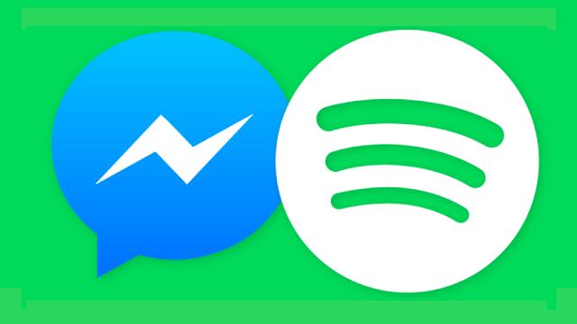 Facebook Messenger'a Spotify Desteği Geldi
