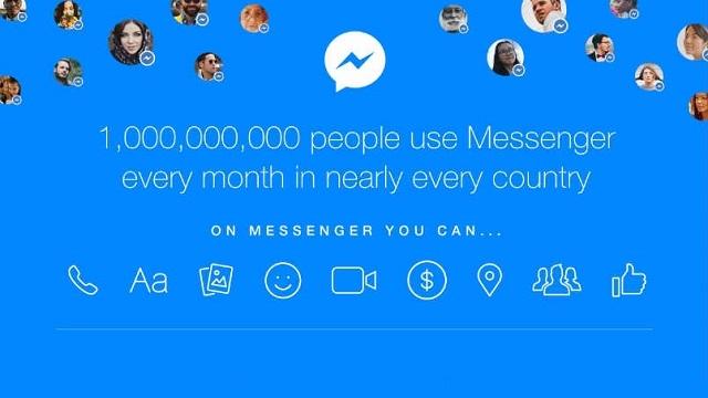 Facebook Messenger'ın Aylık Aktif Kullanıcı Sayısı 1 Milyarı Geçti