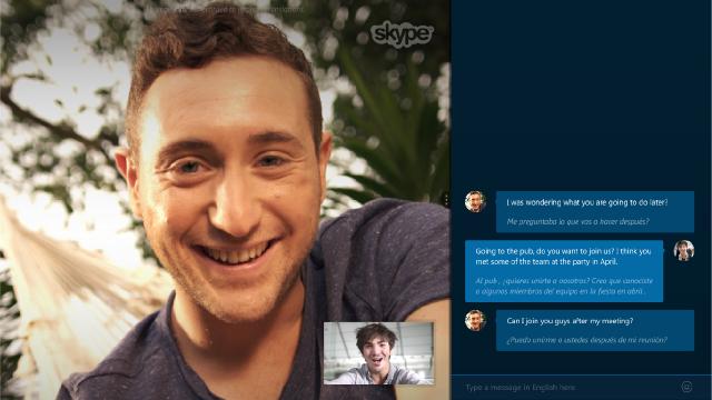 Gerçek Zamanlı Tercüman Skype Translator Kullanıma Sunuldu