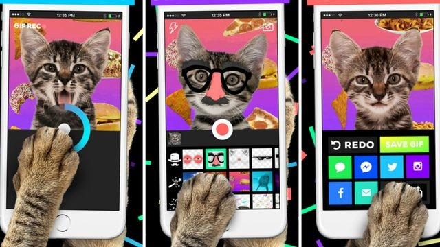 Giphy Cam Uygulaması Sonunda Play Store'da Göründü