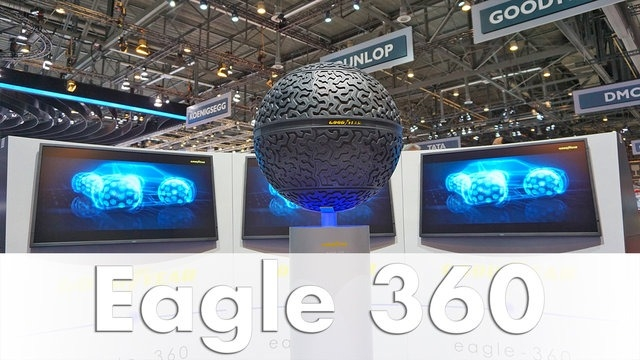Goodyear'dan 360 Derecelik Lastikler: Eagle 360