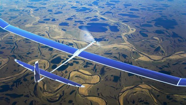 Google 5G'yi Drone'larla Yaymak İçin Testlere Başladı