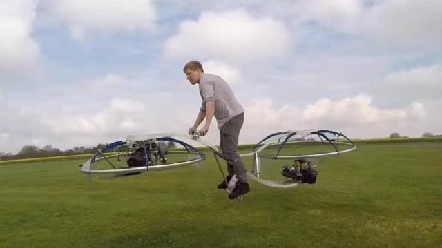 Hiçbir Mühendislik Bilgisi Olmayan Adam Uçan Bisiklet Yaptı