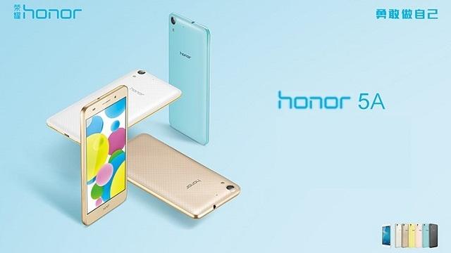 Huawei Honor 5A'nın Fiyatı ve Özellikleri Açıklandı