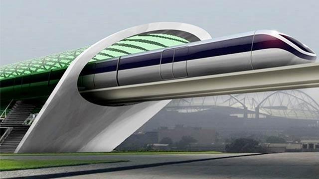 Geleceğin Ulaşım Aracı Hyperloop'un Testleri Başladı
