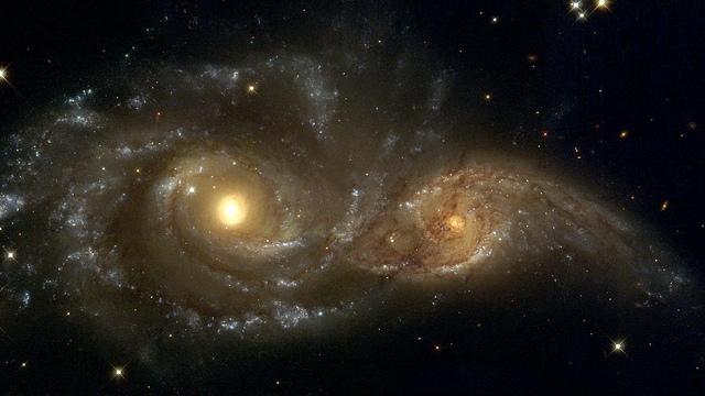 İki Galaksinin Çarpışması Sonucu Yıldız ve Gaz Tsunamisi Ortaya Çıktı