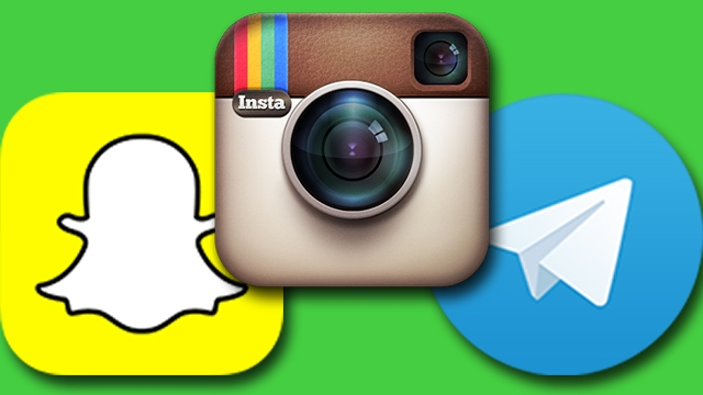 Instagram'dan Snapchat ve Telegram'a Engelleme Geldi