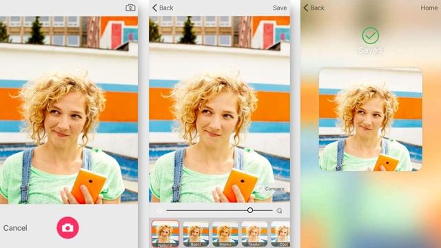 Microsoft Selfie Uygulaması Sonunda Android için Çıktı