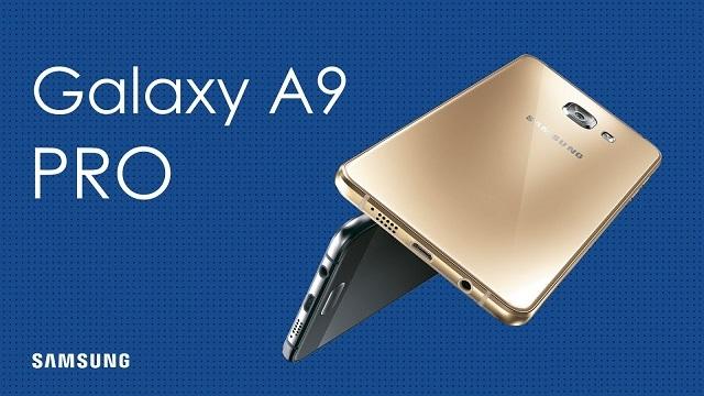 Samsung Galaxy A9 Pro (2016) Tanıtıldı