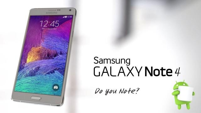 Samsung Note 4 Android 6.0 Marshmallow Güncellemesini Almaya Başladı