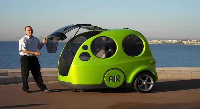 Hava İle Çalışan Araba Airpod Artık Yollarda
